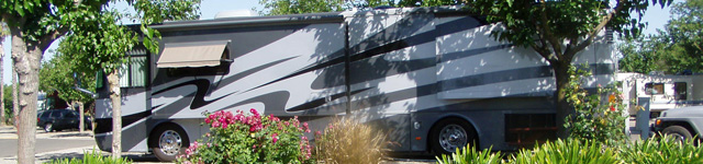 RV sites at Sacramento West